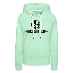 KickSwitch Logo with text - Women's Premium Hoodie