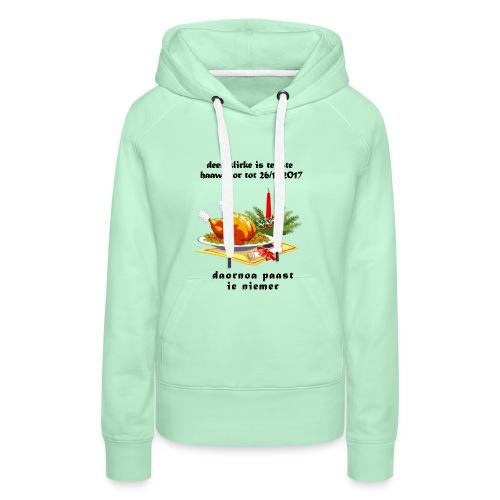 teliste_haawbaor - Vrouwen Premium hoodie