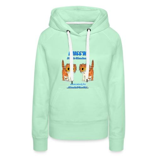 MissK Merchandising - Felpa con cappuccio premium da donna