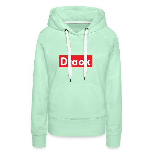 Draok TW Cen MT - Vrouwen Premium hoodie