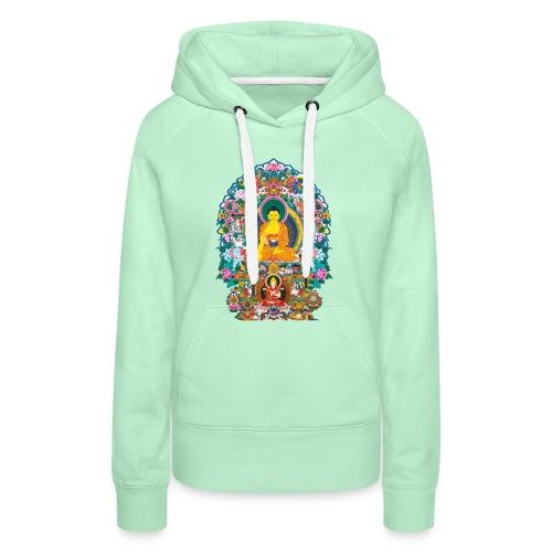 Buddha Shakyamuni Tsongkhapa - Bluza damska Premium z kapturem