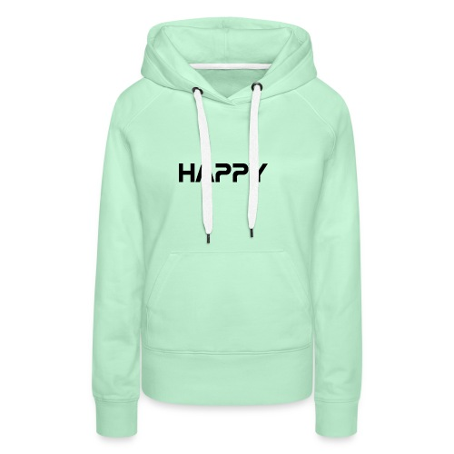 Happy - Frauen Premium Hoodie