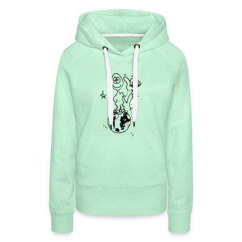 Ma planète - Sweat-shirt à capuche Premium pour femmes