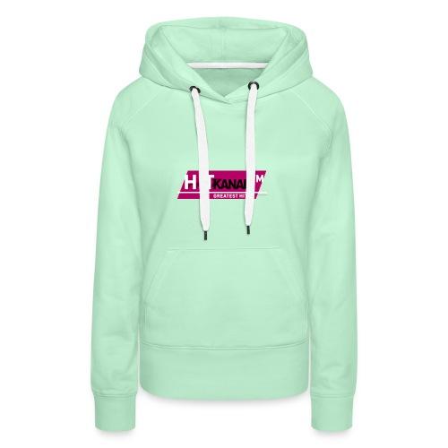LogoHitKanal k - Frauen Premium Hoodie