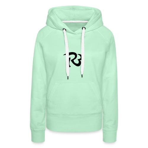 R3 MILITIA LOGO - Women's Premium Hoodie