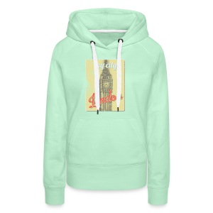 MY CITY London - Women's Premium Hoodie