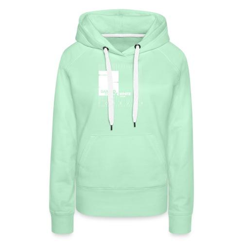 White & Dark - Frauen Premium Hoodie