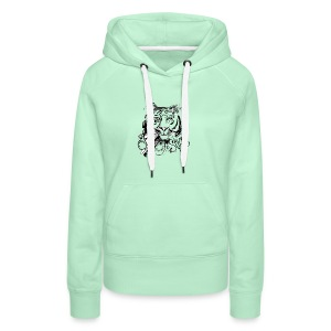 David Pucher Art Tiger - Frauen Premium Hoodie