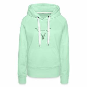 Stierenkop - Vrouwen Premium hoodie