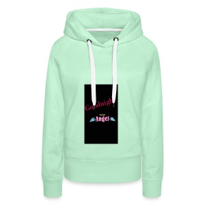 goodnight Angel Snapchat - Women's Premium Hoodie