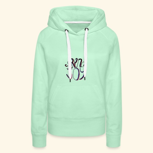 Serena Joy logo merch - Women's Premium Hoodie