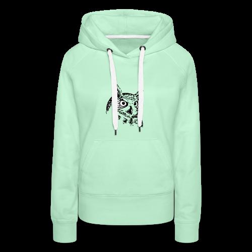 Artist Owl - Women's Premium Hoodie