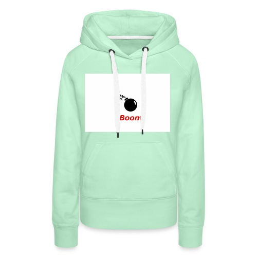 Bomba - Bluza damska Premium z kapturem