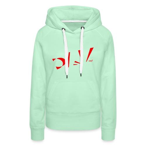Japi - Sweat-shirt à capuche Premium pour femmes