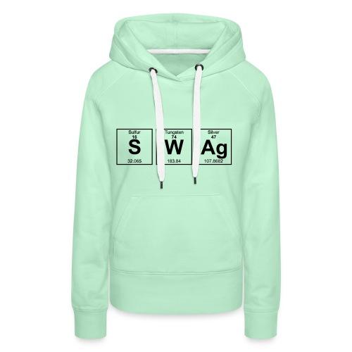 Periodensystem SWAG - Frauen Premium Hoodie