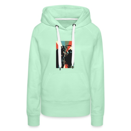 United for Bizzi - Frauen Premium Hoodie