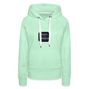 FrenchParkour - Sweat-shirt à capuche Premium pour femmes