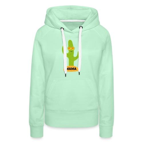 Mama-Cactus - Frauen Premium Hoodie