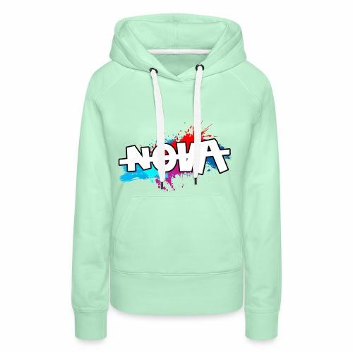 NOVA - Sweat-shirt à capuche Premium pour femmes