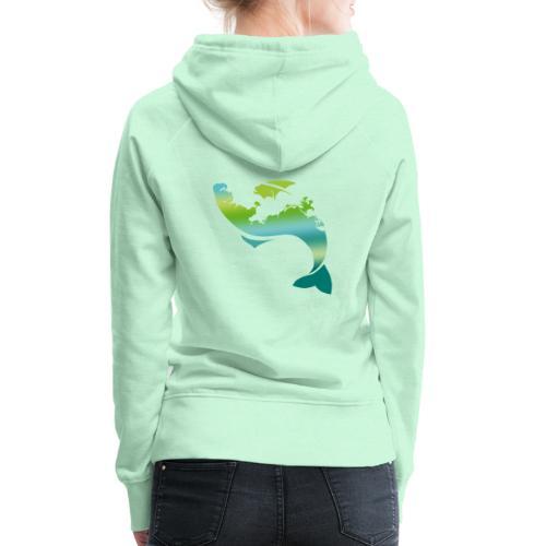 Küstenfisch - Frauen Premium Hoodie