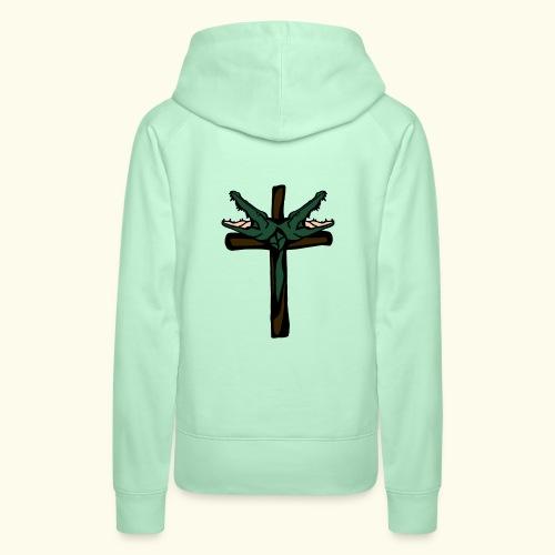 O.DD cross - Sweat-shirt à capuche Premium pour femmes