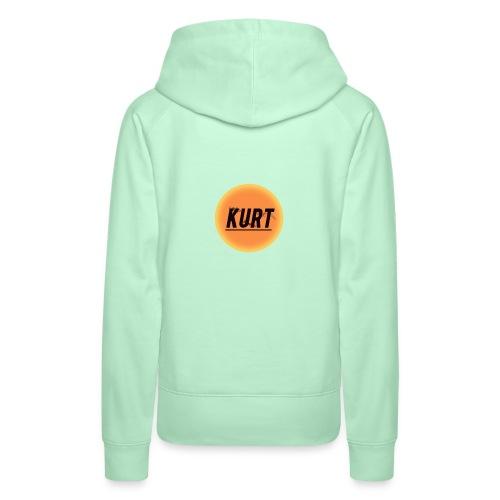 Kurt's Nye Logo - Dame Premium hættetrøje