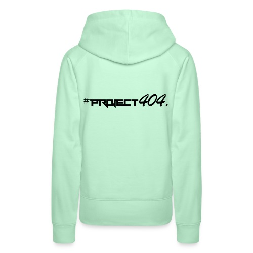 project404 final black - Women's Premium Hoodie