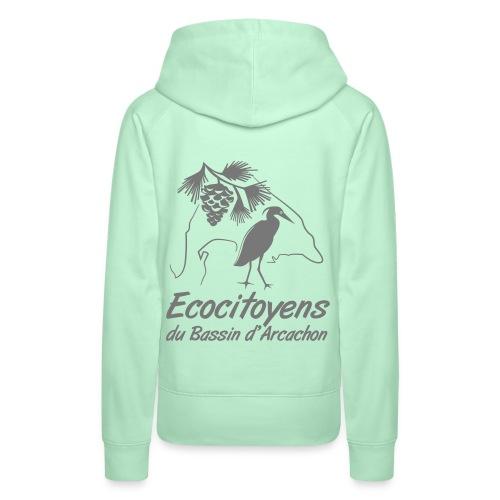 EBA - Sweat-shirt à capuche Premium pour femmes