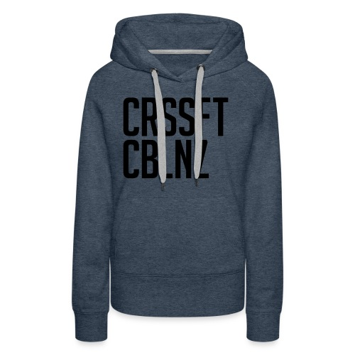 CRSSFT CBLNZ - Frauen Premium Hoodie