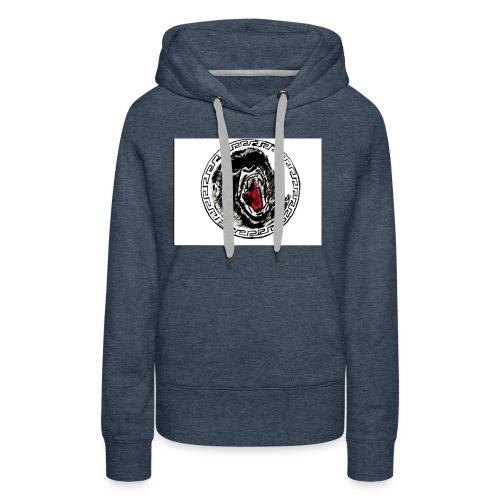 gezeichneter Print fuer ein T Shirt - Frauen Premium Hoodie