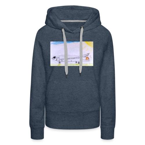 Destination énergie // T-shirt manches courtes - Sweat-shirt à capuche Premium pour femmes