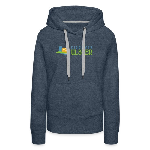 discover ulster logo - Women's Premium Hoodie