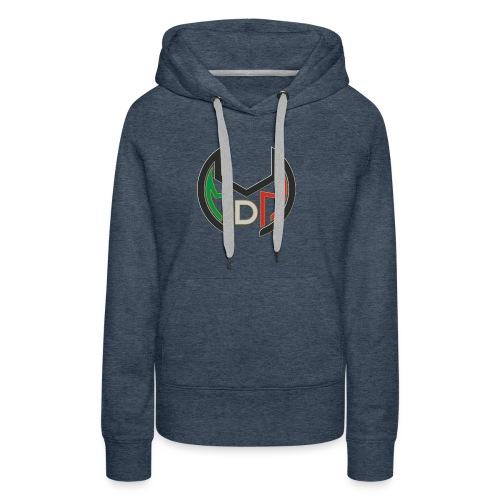 Logo MdM png senza sfondo - Felpa con cappuccio premium da donna