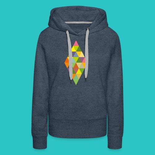 Rhombus - Frauen Premium Hoodie
