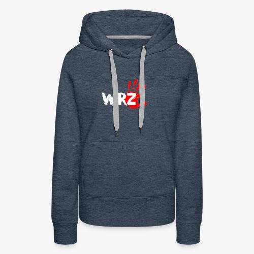 WRZ white version - Women's Premium Hoodie