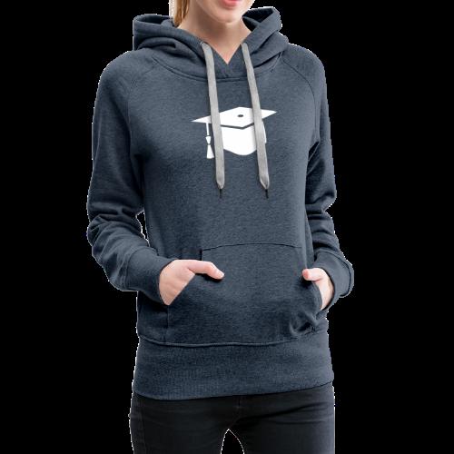 einfacher Doktorhut - Geschenk zur Doktorarbeit - Frauen Premium Hoodie