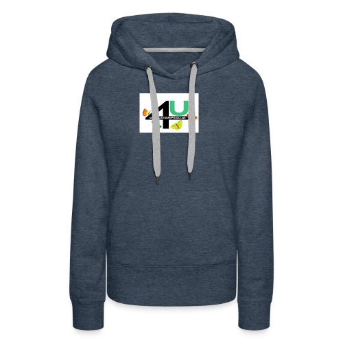 LOGO STAMPS4U - Frauen Premium Hoodie