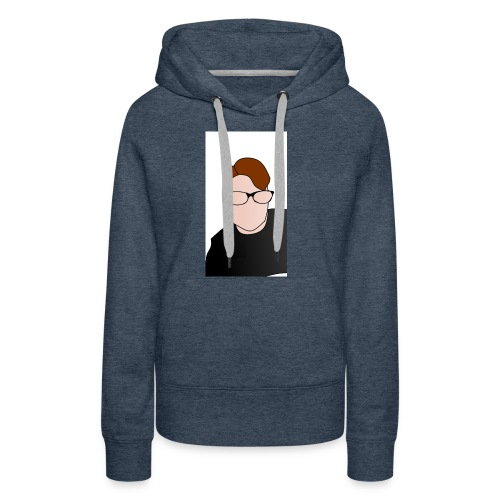 Yt logo - Vrouwen Premium hoodie