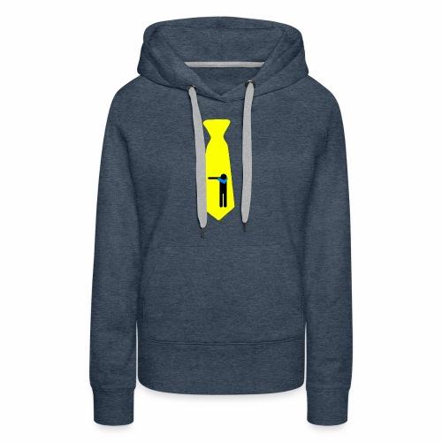 Dab Cravatta Gangsta Yellow - Felpa con cappuccio premium da donna