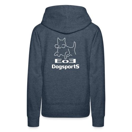 EoE Logo weiß - Frauen Premium Hoodie