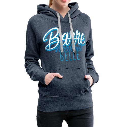 Barre Workout Belle - Felpa con cappuccio premium da donna