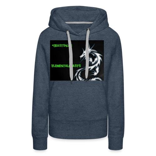 ElementalDragonYT merchandise - Women's Premium Hoodie