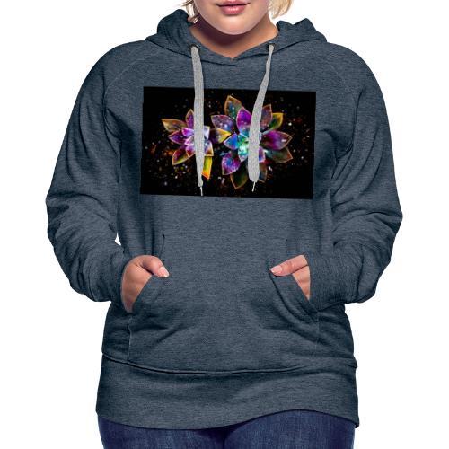 Wunderschöne Kunstblumen - Frauen Premium Hoodie