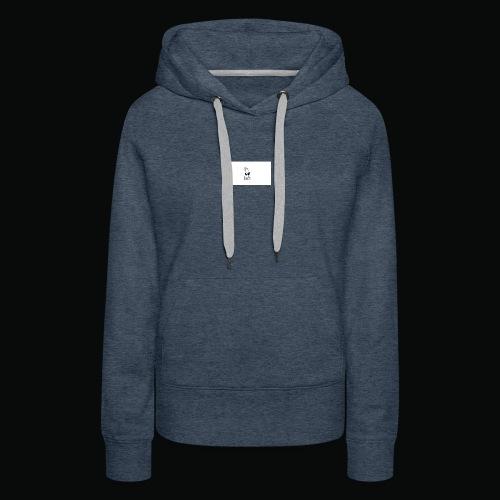 bafti hoodie - Dame Premium hættetrøje