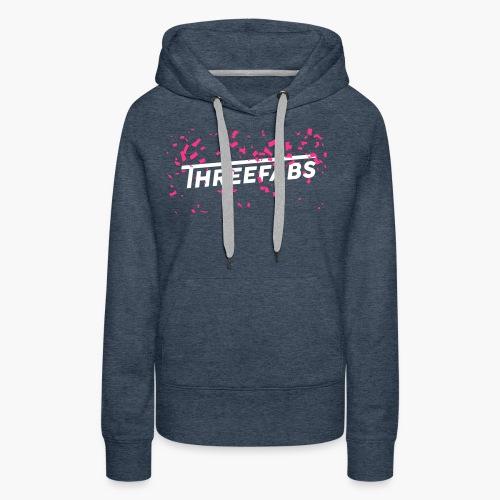 DJ ThreeFabs Pink - Frauen Premium Hoodie