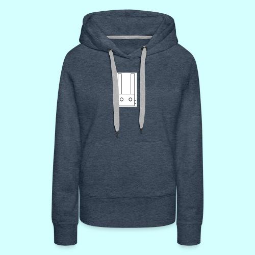 Logo Lyokus - Sweat-shirt à capuche Premium pour femmes