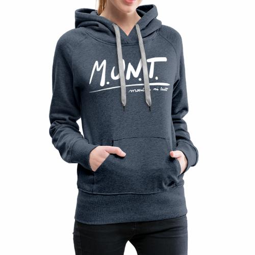 Munt - Vrouwen Premium hoodie