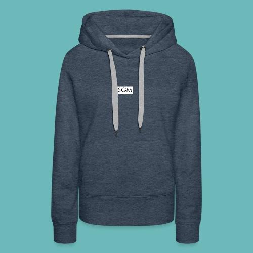 sgm - Sweat-shirt à capuche Premium pour femmes