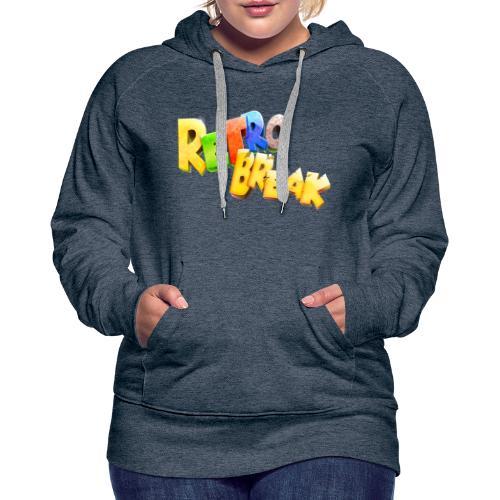 RetroBreak Logo - Women's Premium Hoodie