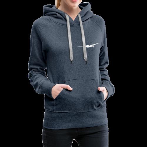 Pik20e Segelflugzeug Segelflieger Tshirt Geschenk - Frauen Premium Hoodie